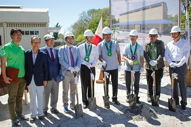 PhilRice seed facility-groundbreaking