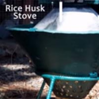 rice PhilRice Machine Rice Husk Stove
