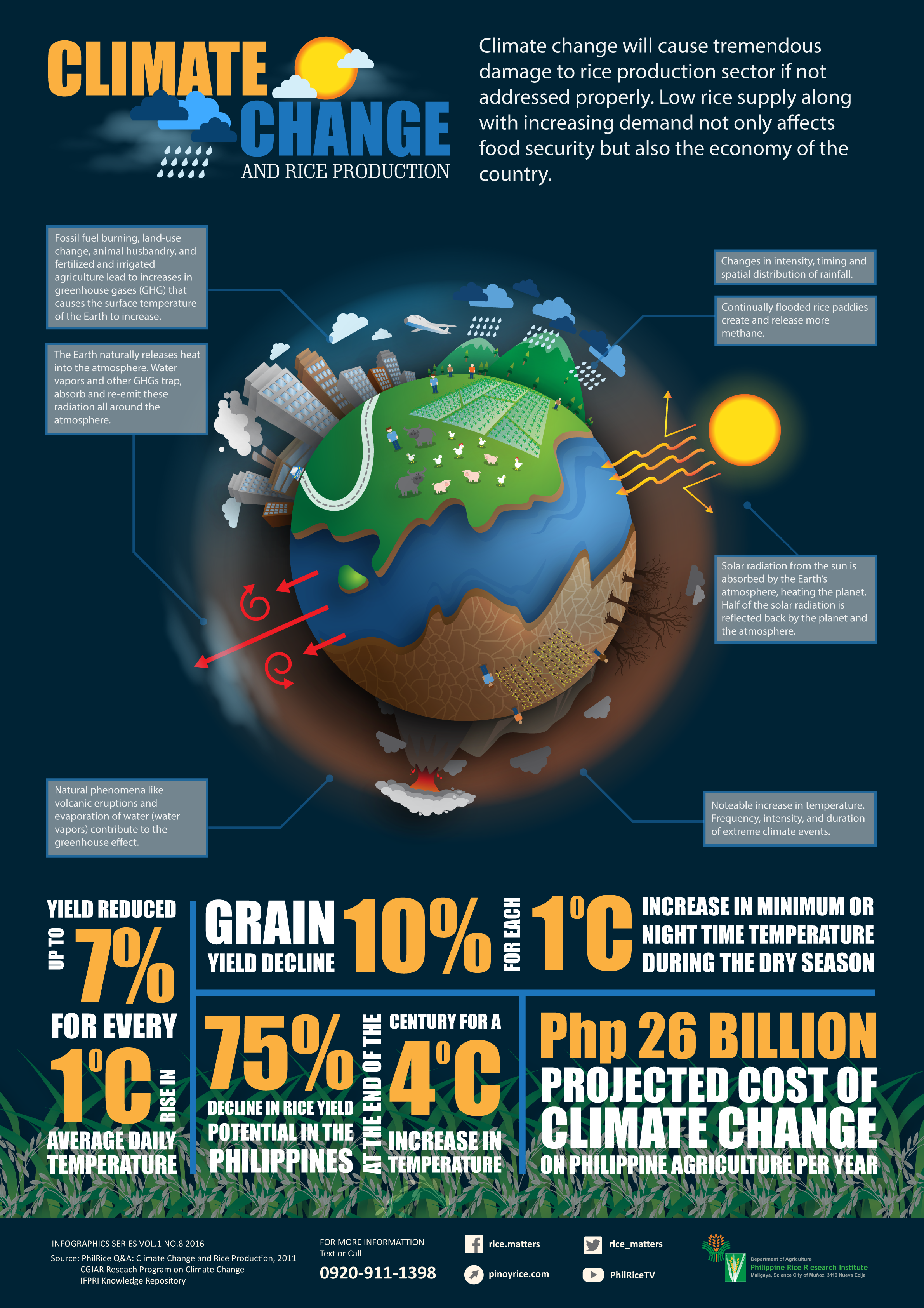 Infographics  Philippine    Rice    Research Institute
