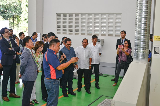 Seed processing inauguration2