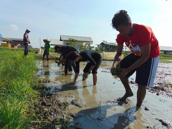 Agri students