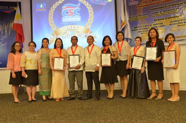 CSC Awardees