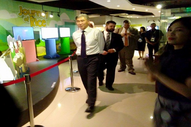 rice science museum_museum_rice_ASEAN_US_ambassador_Sung Kim