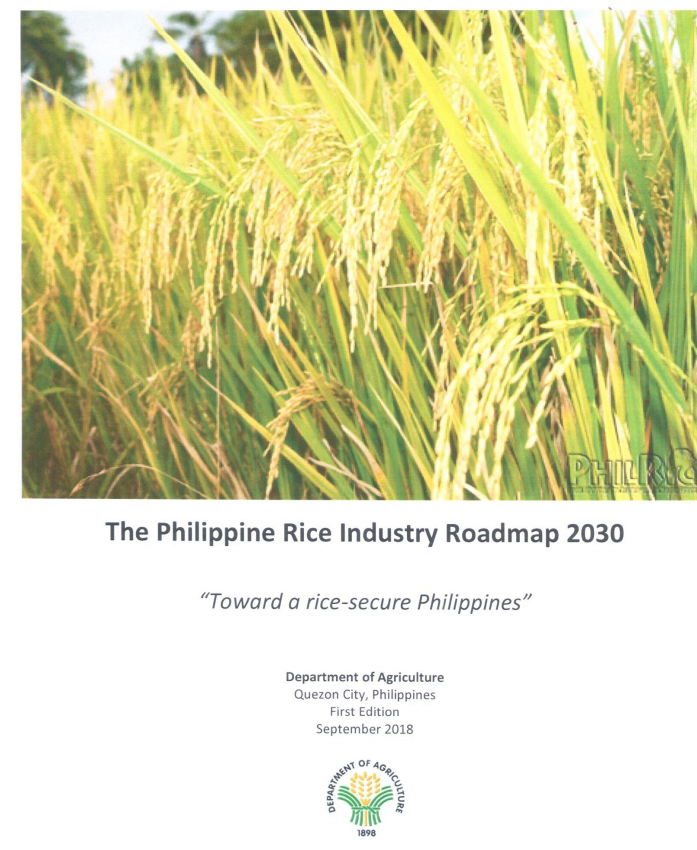 Philippine Rice Industry Roadmap