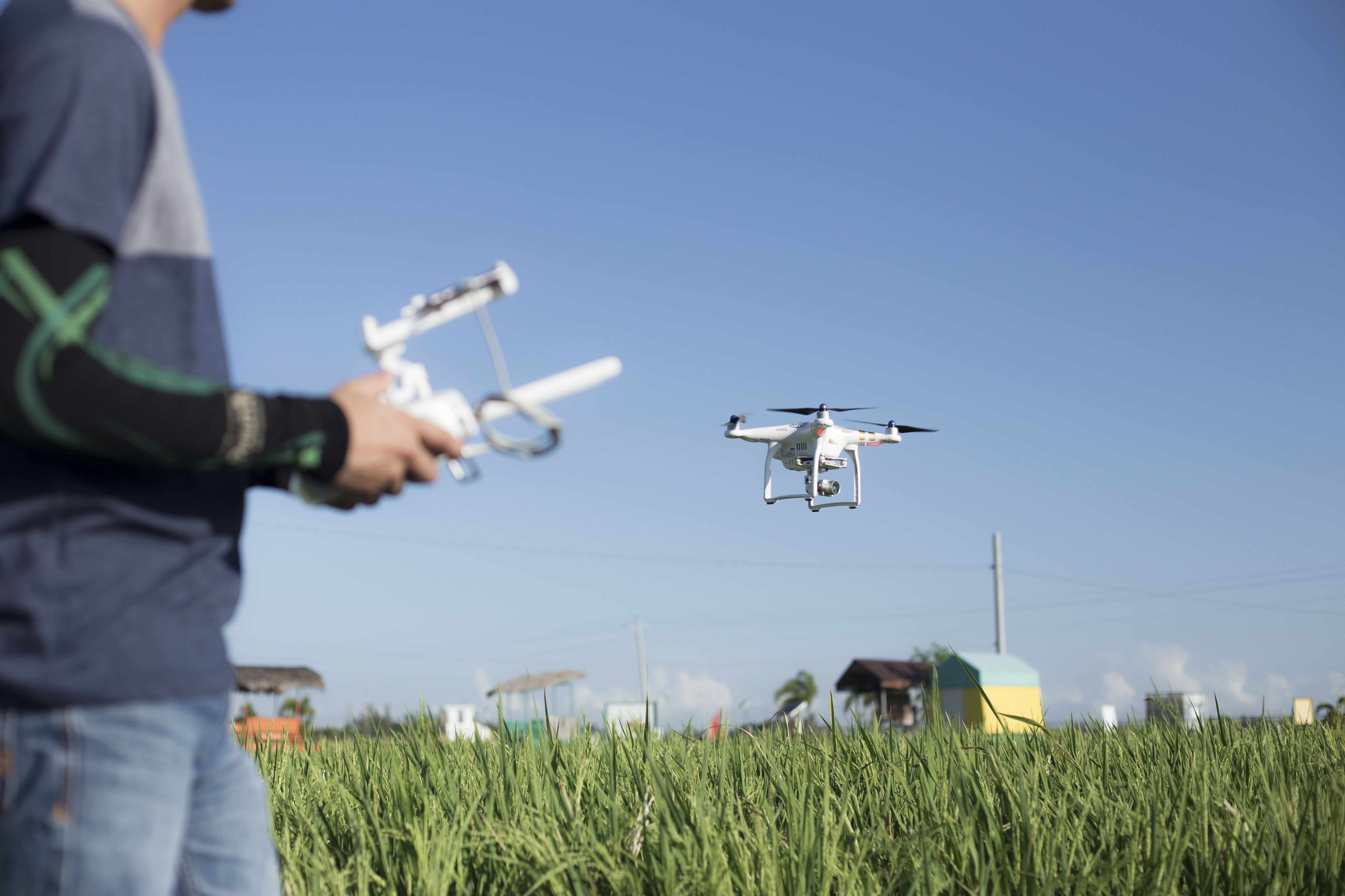 Agricultural drone: a hovering technology in the Philippine rice